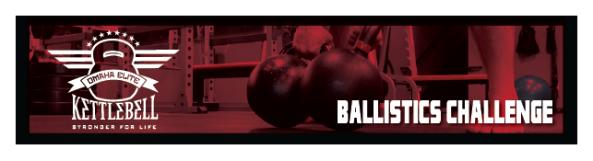 Omaha Elite Kettlebell 10-week Ballistics Challenge
