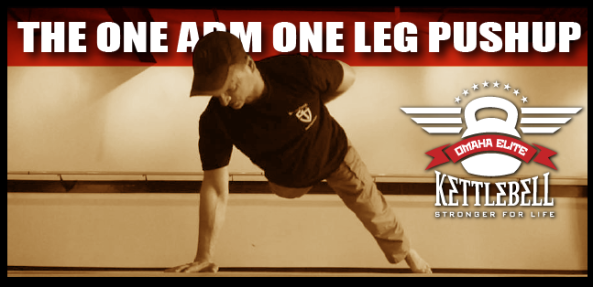The One Arm One Leg Pushup